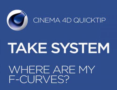 Cinema 4D Take System: Hidden F-Curves?