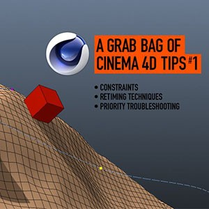 A batch of tips and tricks for C4D